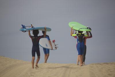 Cours et Stages de Surf à Seignosse Hossegor dans les Landes